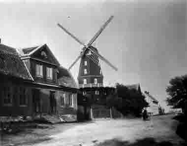 Lindbergs kvarn Bergkvara 1890-talet
