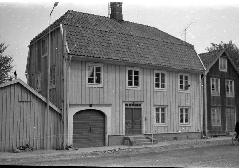 Norra vägen 19, 22/6 1966. Jenny Linds bostad