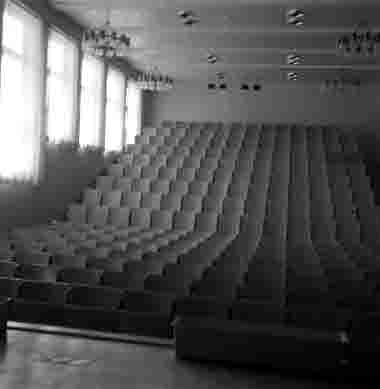 Nya Sjöbefälsskolan Aulan 18/6 1962