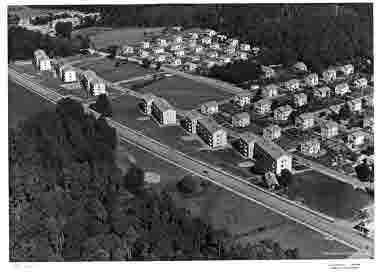 Flygbild över Brändtorpet