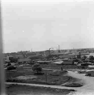 Utsikt från nya sjöbefälsskolan 18/6 1962