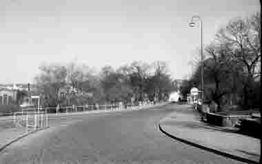 Södra vägen mot Tullslätten 16/5 1964