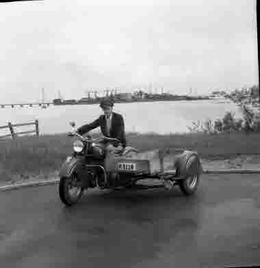 Hans Panemal motortjänst AB. Ängö 1951