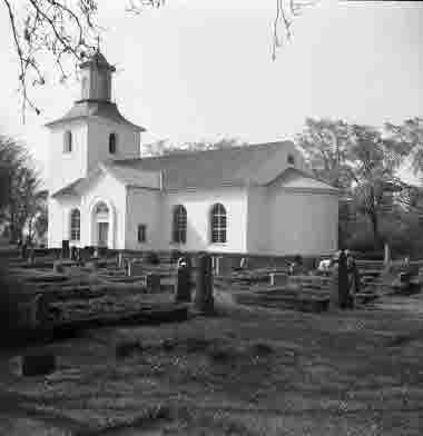 Södra Möckleby kyrka 1/6 1952