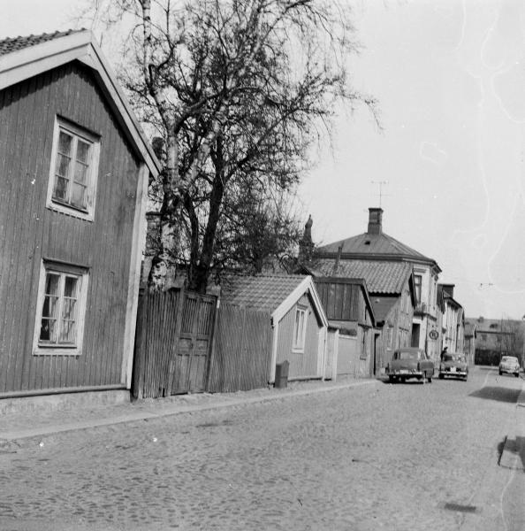 Strandgatan från Södra Malmgatan. 19/4 1964
