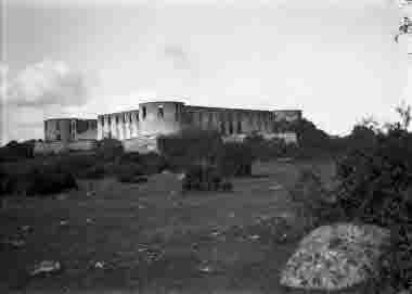 Borgholms slottsruin 1924