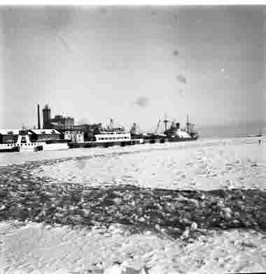 Hamnen 24/1 1963