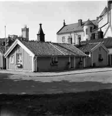 Hörnet Östra Vallgatan Norra Långgatan 20/8 1965