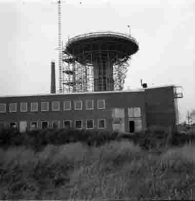 Nya sjöbefälsskolan under byggnad 27/10 1961