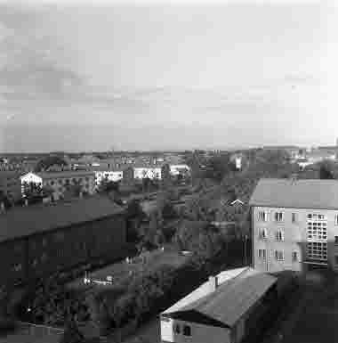 Utsikt från lasarettet 16/7 1959