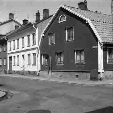 Hörnhuset Proviantgatan Storgatan. Proviantgatan 16. 30/5 1970