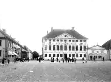 Stortorget Stadshotellet Rådhuset