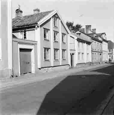 Proviantgatan från Storgatan 15/8 1962