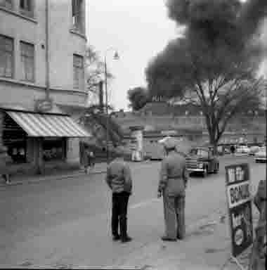 Branden på Vedgårdsholmen, Bruuns magasin, 14/5 1962