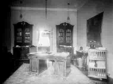Länsstyrelsen Landshövding J L Falks arbetsrum