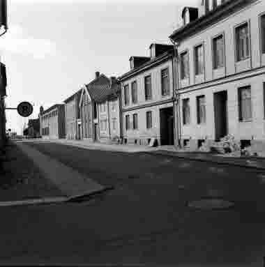 Proviantgatan från Norra Långgatan 15/8 1962
