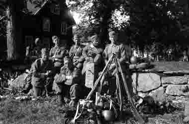 På manöver 18 augusti 1943 Broby