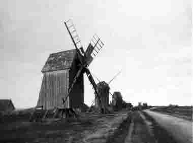 Vickleby kvarnar 1954