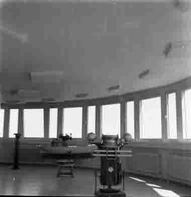 Nya Sjöbefälsskolan Radartornet 18/6 1962