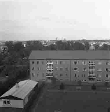 Utsikt från lasarettet 16/2 1959
