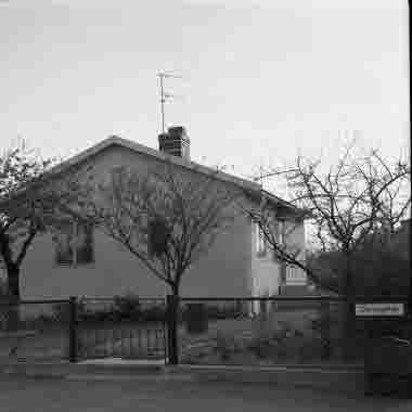 Hus vid Dackegatan 30/5 1970
