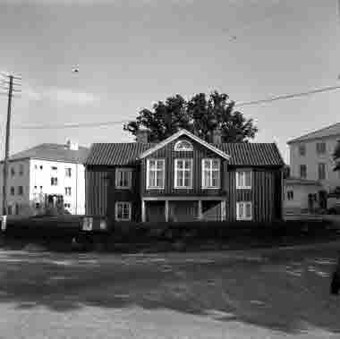 Dörby gästgivargård Smedby, vid Högalid 1950
