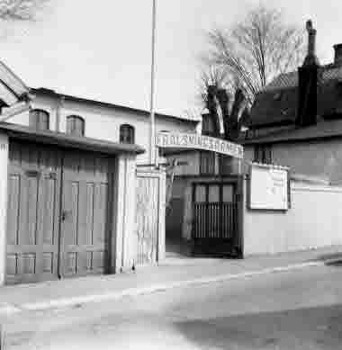 Nybrogatan 14. Frälsningsarmén 25/4 1964