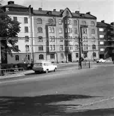 Framstahuset 20/8 1965 Södra vägen 16 och 14