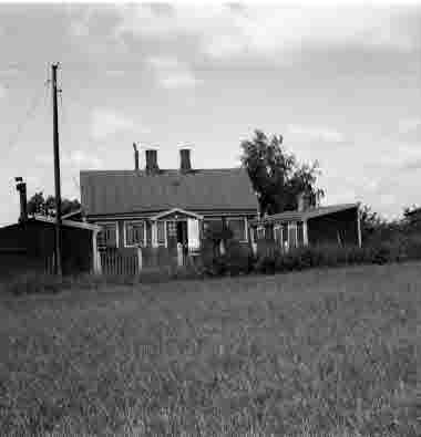 Hus vid Oxhagsgatan 12/8 1959