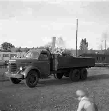Fredriksdahls Bil AB Reo last 28/6 1950