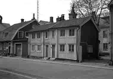 Storgatan 49-51 16/5 1965 Hinke Jonssons hus omkr. 1920